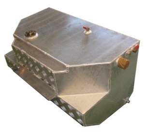 RHYNO Heavy Duty Rear Long Range Drop Tank